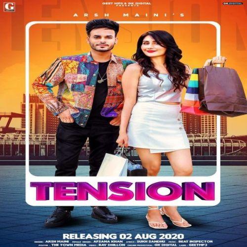 Tension Arsh Maini, Afsana Khan new mp3 song free download, Tension Arsh Maini, Afsana Khan full album