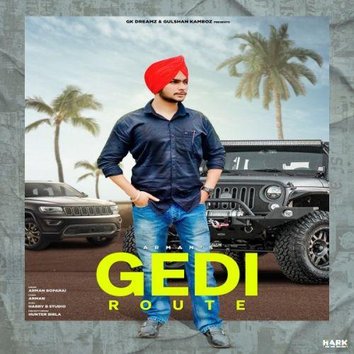 Gedi Route Arman Boparai new mp3 song free download, Gedi Route Arman Boparai full album